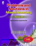 Problems & Solutions in Advanced Accountancy Volume II, 7th Edition Pdf/ePub eBook