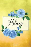 Hilary Journal ebook