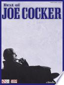 Best of Joe Cocker  Songbook  Book