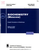 Biochemistry  Moscow