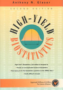Cover of High-yield Biostatistics