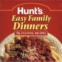Hunt s Easy Family Dinners