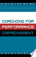 Coaching for Performance Improvement Book PDF