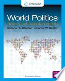 World Politics: Trend and Transformation