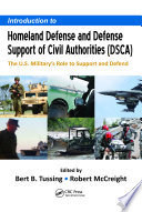 Introduction to Homeland Defense and Defense Support of Civil Authorities  DSCA