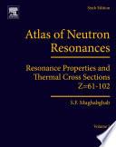 Atlas of Neutron Resonances