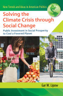 Pdf Solving the Climate Crisis through Social Change: Public Investment in Social Prosperity to Cool a Fevered Planet Telecharger