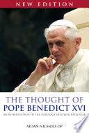 The Thought of Pope Benedict XVI new edition