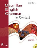 Essential Macmillan English Grammar in Context. Student's Book Without Key
