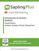 Sapling Plus for Introduction to Genetic Analysis  Six Month Access