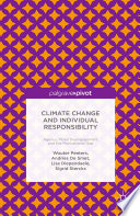 Climate Change and Individual Responsibility