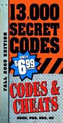 Codes & Cheats Fall 2005 ebook