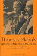 Thomas Mann's Joseph and His Brothers ebook