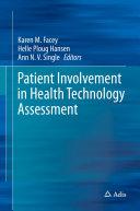 Patient Involvement in Health Technology Assessment Pdf/ePub eBook