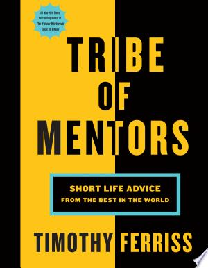 Download Tribe of Mentors Free Books - Read Books
