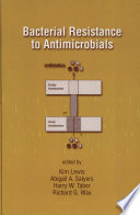 Bacterial Resistance To Antimicrobials Book PDF