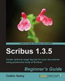 Scribus 1 3 5 Beginner s Guide