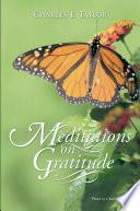 Meditations on Gratitude
