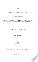 Life and Work of the Seventh Earl of Shaftesbury Book