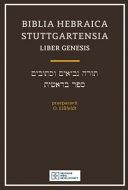 Biblia Hebraica Stuttgartensia Liber Gen