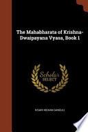 The Mahabharata of Krishna-Dwaipayana Vyasa, Book 1