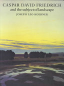 Caspar David Friedrich And The Subject Of Landscape [Pdf/ePub] eBook