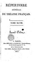 Répertoire général du théatre français, 48