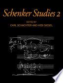 Schenker Studies 2