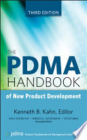 """The PDMA Handbook of New Product Development"" by Kenneth B. Kahn"