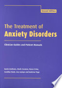 Cover of The Treatment of Anxiety Disorders