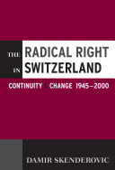 The Radical Right in Switzerland