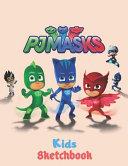 PJ Masks Sketchbook for Kids