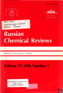 Russian Chemical Reviews Book