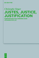 Pdf Justes, justice, justification Telecharger