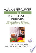 Human Resources In The Foodservice Industry PDF