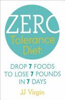 The Zero Tolerance Diet Book