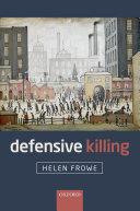 Pdf Defensive Killing