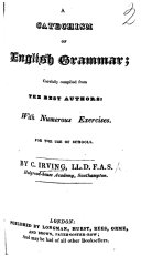 A Catechism of English Grammar  etc