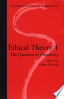 Ethical Theory: The question of objectivity