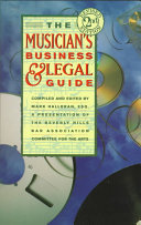 The Musician s Business   Legal Guide Book