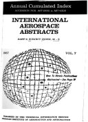International Aerospace Abstracts Book