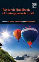 Research Handbook of Entrepreneurial Exit Pdf/ePub eBook