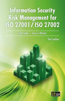 Information Security Risk Management for ISO 27001   ISO 27002 Book