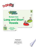 Long And Short Vowels Bumper Cars Literacy Center