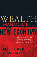 Wealth Management in the New Economy Pdf/ePub eBook