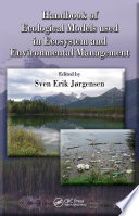 Handbook of Ecological Models used in Ecosystem and Environmental Management Book