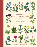 link to Culpeper's complete herbal in the TCC library catalog