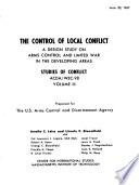 The Control of Local Conflict