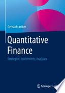 Quantitative Finance