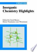 Inorganic Chemistry Highlights